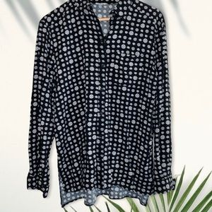 Ecote | Urban outfitters patterned button down shirt